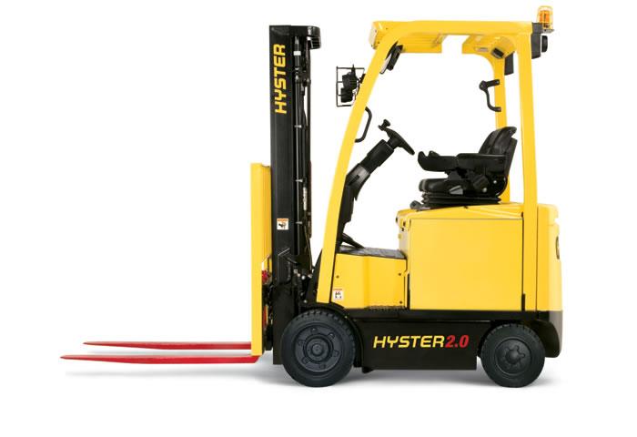 Čelný vysokozdvižný 4 kolesový elektrický vozík E1.6-2.0XN