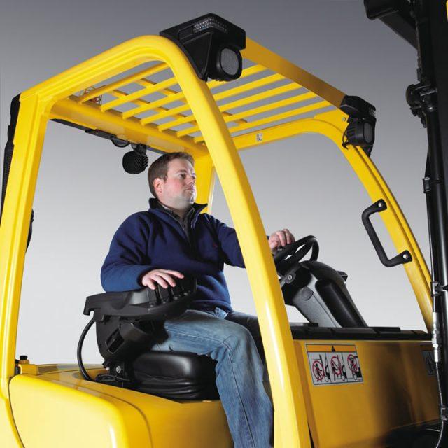 Vysokozdvižný vozík s LPG pohonom H2.0-3.5FT