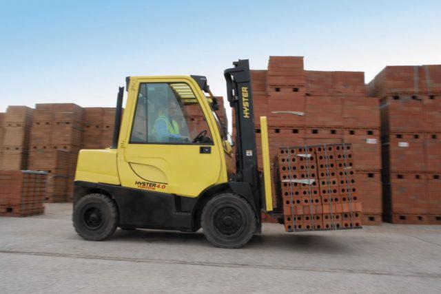 Vysokozdvižný vozík s LPG pohonom H4.0-5.5FT