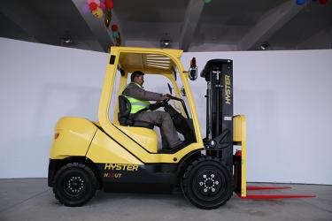 Nová rada vysokozdvižných vozíkov Hyster H2.0-3.5UT