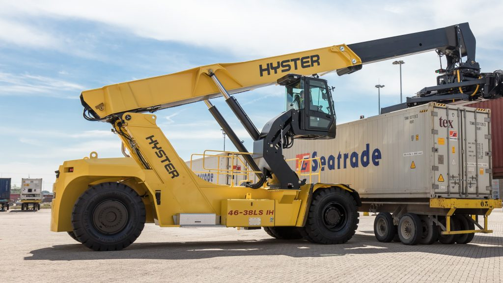 Hyster ReachStacker so zdvihacou kabinou