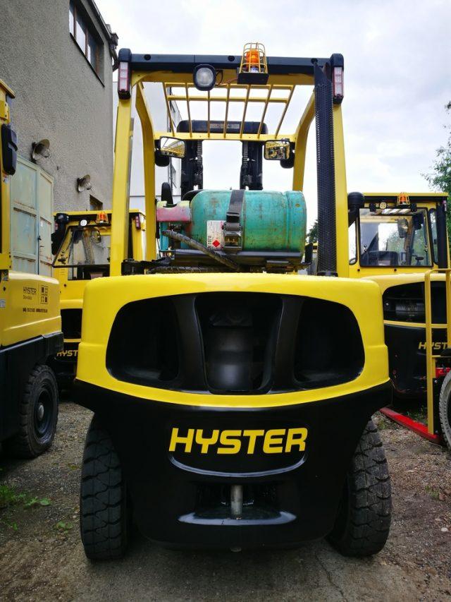 Jazdený vysokozdvižný vozík Hyster H3.5FT LPG
