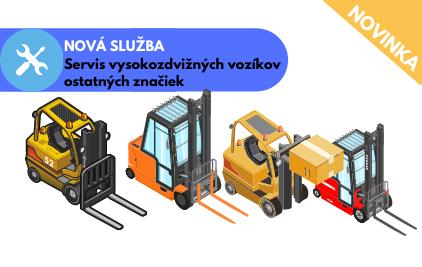 NOVÁ SLUŽBA Servis vysokozdvižných vozíkov ostatných značiek_1