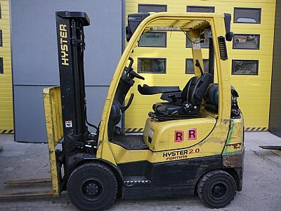 Čelný vozík s LPG pohonom H2.0 FT LPG (OZN. H6024)
