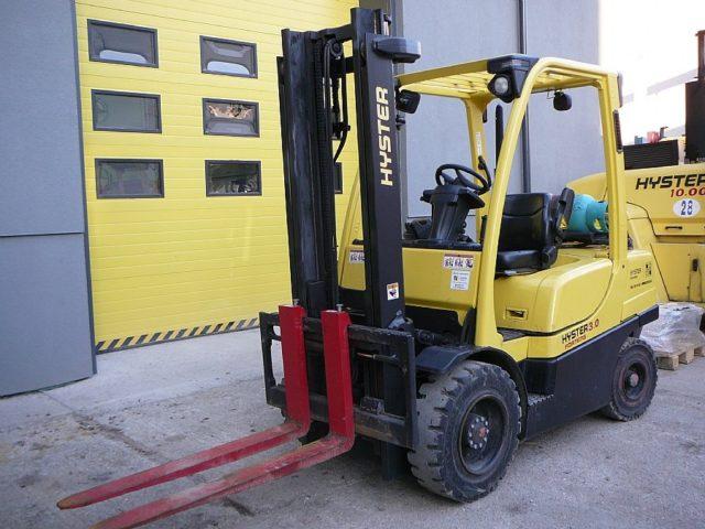 Čelný vozík s LPG pohonom H3.0FT LPG (OZN. H6025)