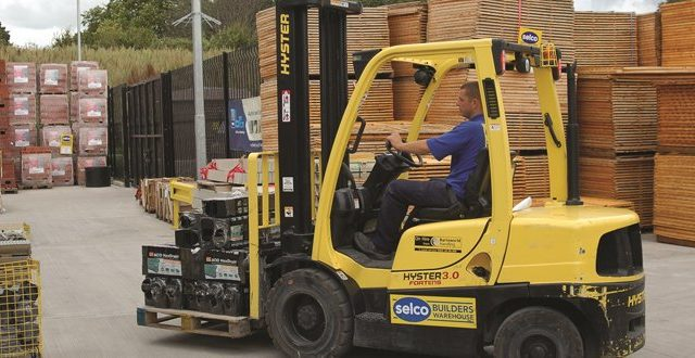 vzv hyster vo firme selco builders