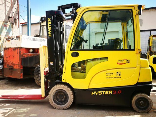 Vysokozdvižný vozík Hyster repasovaný použitý elektrický