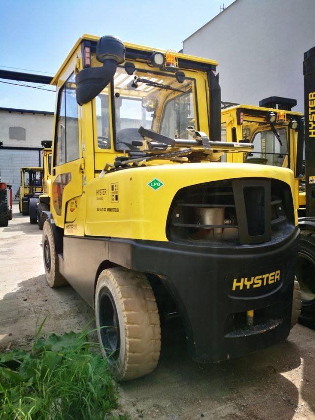 Vysokozdvižný vozík Hyster repasovaný použitý dieslový