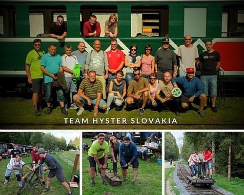 Team Hyster Slovakia