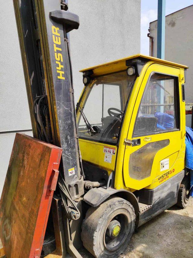 jazdený vysokozdvižný vozík Hyster H3.0FT LPG (OZN. H147)