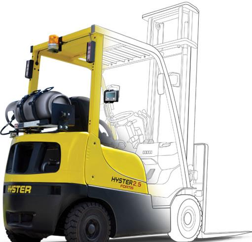 Vysokozdvižný vozík Hyster