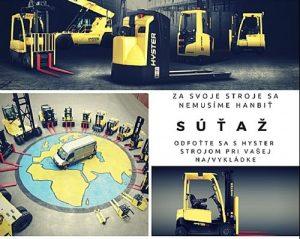 Súťaž Hyster Slovakia